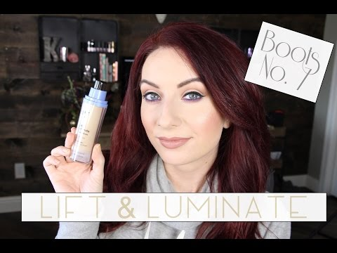 Boots No 7 Luminate & Lift | First Impressions | Demo | shadesofkassie