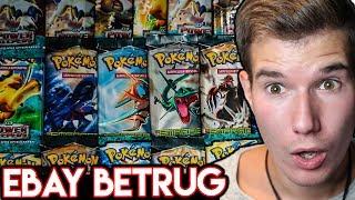 Die Pokémon Booster von dem Ebay-Betrüger!