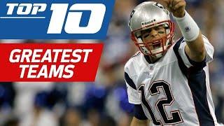 Top 10 Greatest Teams in NFL History | NFL Films