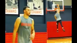 Zach Lavine Pulls Up In Pick-Up Game With The 2K Jelly Layup Pack!
