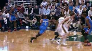 Russell Westbrook Elevates and Explodes