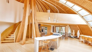 The Newest Dome House with high technology in the 21th century