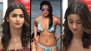 Alia Bhatt AWKWARD MOMENT On Priyanka Chopra's BIKINI Photos