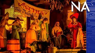 Disneyland Dumping  'Wench Auction' on Pirates of the Caribbean