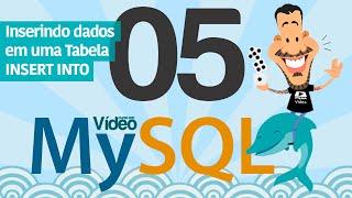 Curso MySQL #05 - Inserindo Dados na Tabela (INSERT INTO)