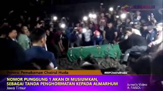 Prosesi Pemakaman Choirul Huda, Kiper Persela Lamongan