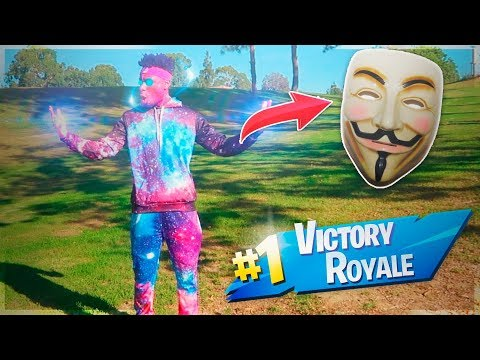 A FORTNITE HACKER SENT ME THE GALAXY SKIN IN REAL LIFE BOOTLEG SKIN CRAZIEST FORTNITE DUO