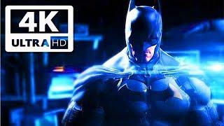Batman: Arkham Origins All Cutscenes (Game Movie) 4K 60FPS UHD