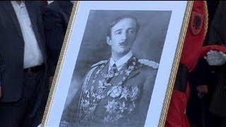 La dépouille du roi Zog rapatriée en Albanie