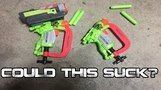 COULD THIS SUCK? Nerf Zombie Strike Clampdown Review