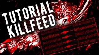 Tutorial Killfeed | How to Killfeed by WaRTeK | Episode II - Terminal & Skidrow