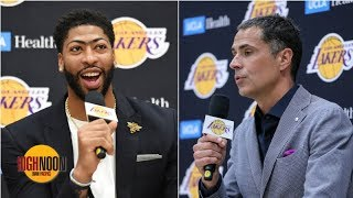 Should Anthony Davis have done Rob Pelinka a favor by lying? | High Noon