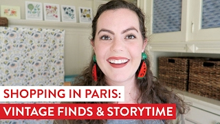 Paris Vintage Haul & Storytime | Jewelry and Accessories