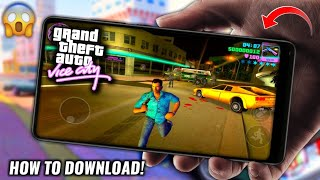 New Website | How To Download GTA Vice City Android Game Apk+Obb - Hindi