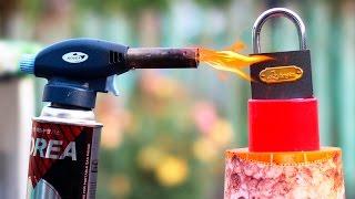 LOCK VS GAS TORCH