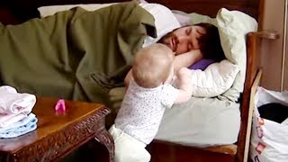 pc mobile Download Cutest  Baby Wake Up Daddy - Funny Cute Video