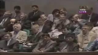 Saidi saheb on the Parliament