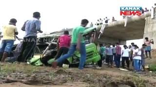 19 Die In Bus Accident In Athmallik of Angul