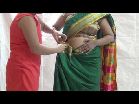 Paithani Saree Draping | Maharashtrian Saree