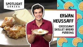 Croissant Skillet Bread Pudding   Erwan Heussaff