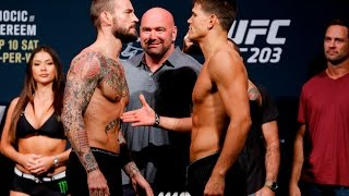 UFC 203 Weigh-Ins: CM Punk Refuses to Shake Mickey Gall's Hand