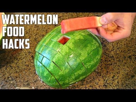 5 AWESOME Watermelon Food Life Hacks You Should Try