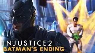 Injustice 2 - Batman's Ending (FINAL CUTSCENE) Absolute Justice