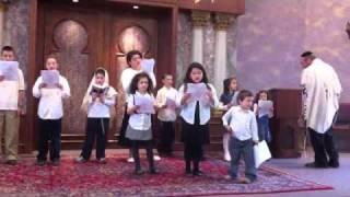 Hallel Service songs Odekha ki, Ana Adonai and Baruch Haba B'Shem Adonai
