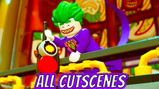 LEGO Dimensions ALL CUTSCENES The LEGO Batman Movie Story
