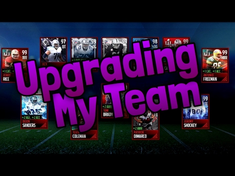 Upgrading My Team With 6 Million Coins INSANE TEAM Madden Mobile 17