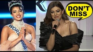 You Should Not Miss Sushmita Sen's Comment on Priyanka Chopra