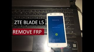 ZTE BLADE L5 BYPASS GOOGLE ACCOUNT REMOVE FRP without OTG or PC Supprimer le compte google
