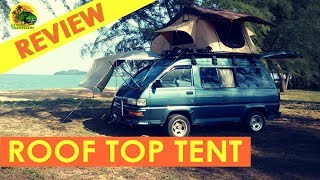 S1 EP 11 [ ROOF TOP TENT REVIEW  ]  DIY Campervan MALAYSIA