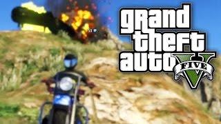 GTA 5 UNLIMITED #3 - MOTORCYCLE MOUNTAIN! (GTA V Online)