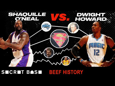Shaq started beefing with Dwight Howard over who deserved the title of Superman and never stopped