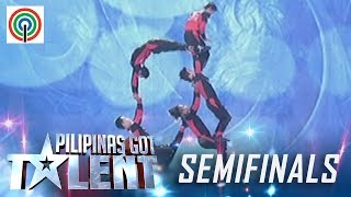 Pilipinas Got Talent Season 5 Live Semifinals: Dino Splendid Acrobats - All Male Actobat Group