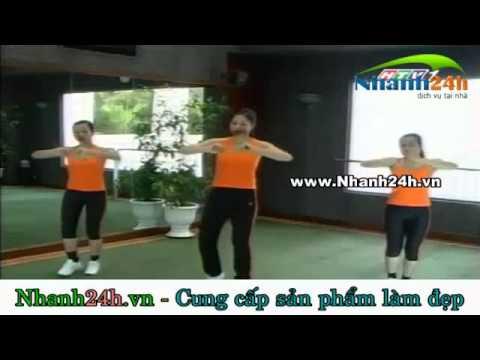 Thể dục thẩm mỹ bài tập chân Nhanh24h.vn