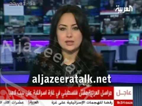 الجزيرة توك تضبط قناة العربية متلبسة