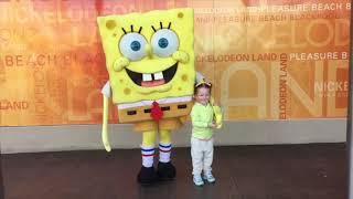 Meeting SpongeBob, Dora and more Characters Nickelodeon Land Blackpool