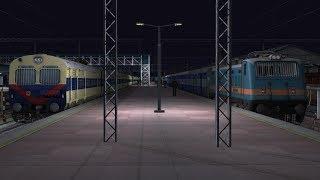 WAP 4 Digital India   54303/Delhi - Kalka Passenger   Train Simulator 2019