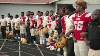 Louisiana school requires athletes to stand for anthem