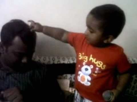 One year old Jeremy's worship MUST WATCH.3GP