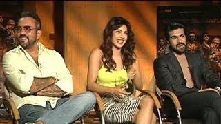 Priyanka, Ram Charan and Apoorva on 'Zanjeer'