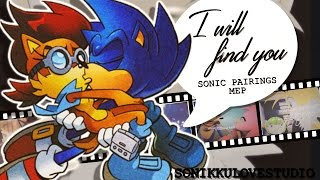 {Sonikku❤} I'll runaway with your footsteps~ | Sonic Pairings MEP