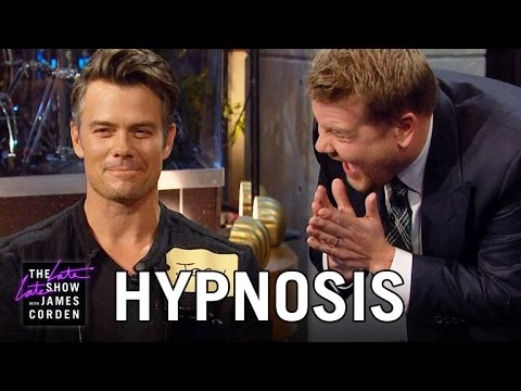 Hypnotizing Josh Duhamel & The Late Late Show Audience