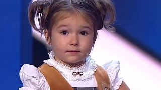 4 year old Russian girl speaks 7 languages fluently
