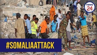 WATCH: Scenes from the Somalia truck explosion that killed more than 300 people
