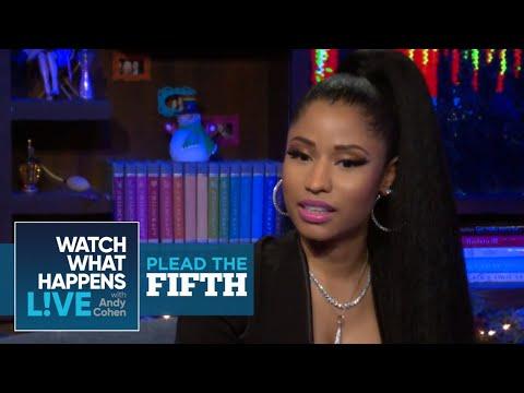 Xxx Mp4 Nicki Minaj On The Biggest Dick In The Music Industry Plead The Fifth WWHL 3gp Sex