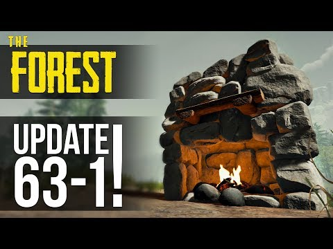 UPDATE v0.63! Chandelier, Fireplace, Tactical Flashlight! The Forest!