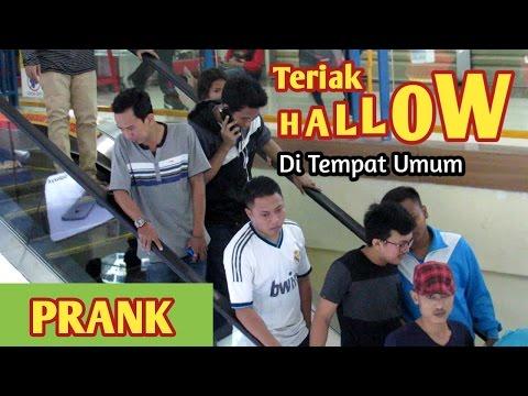 Prank Teriak Hallo di Tempat Umum - Prank Indonesia